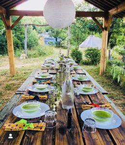 La Pierre Verte Dining Table