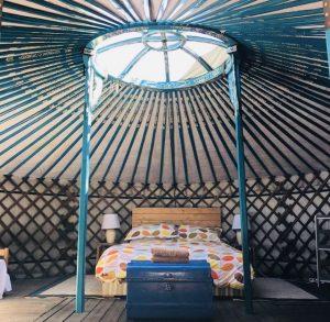 La Pierre Verte Yurt Room