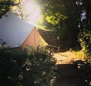 La Pierre Verte Tent