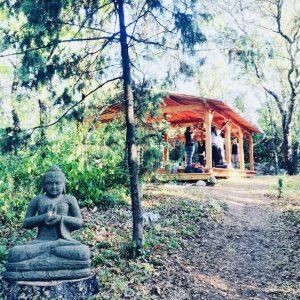 La Pierre Verte Outdoor Yoga Studio